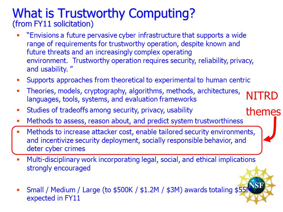 6 What is Trustworthy Computing.