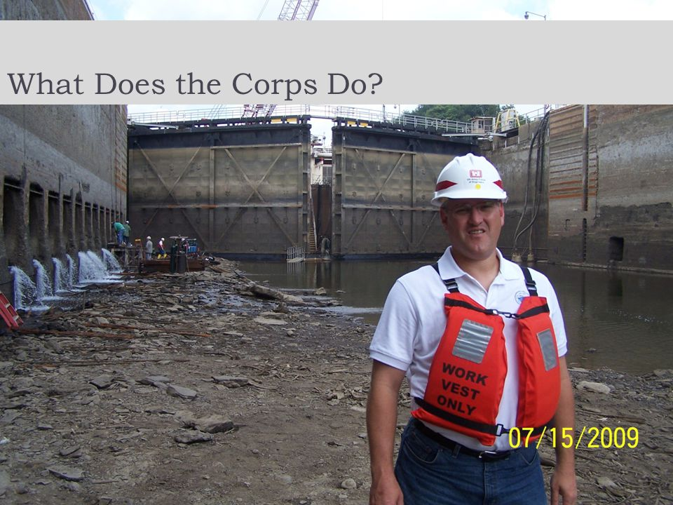 What Does the Corps Do?