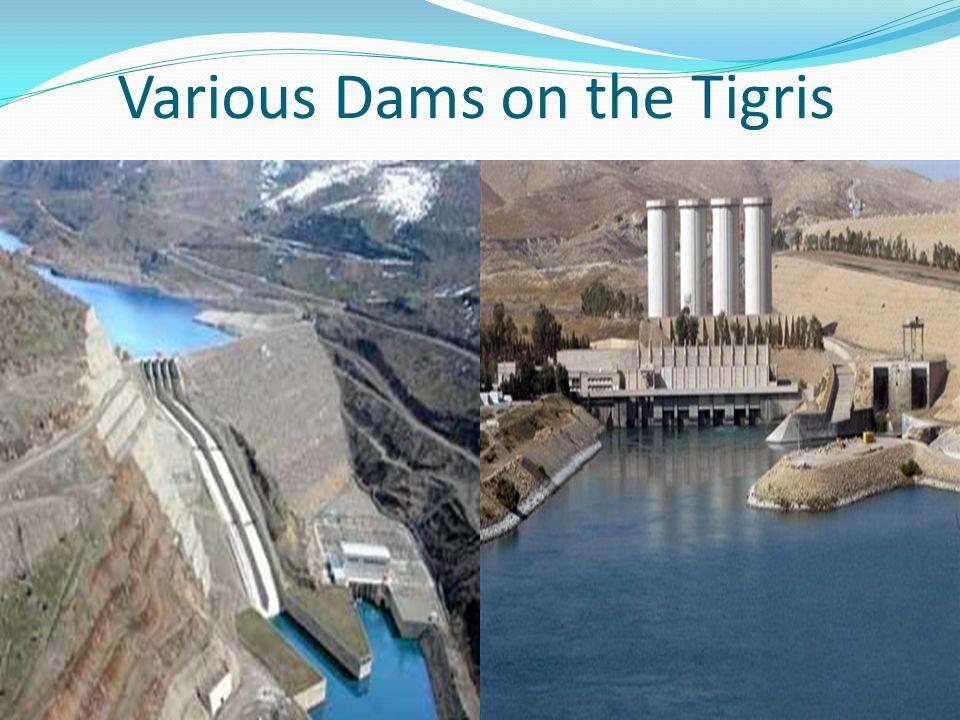Various Dams on the Tigris