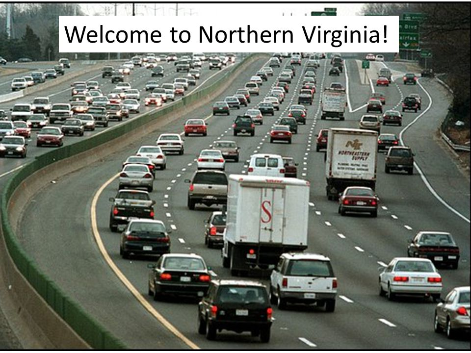 Welcome to Northern Virginia!
