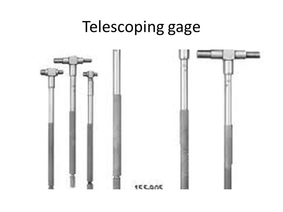 Telescoping gage