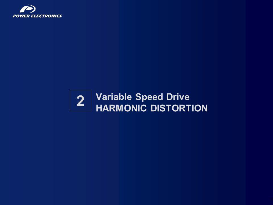 5 Variable Speed Drive HARMONIC DISTORTION 2