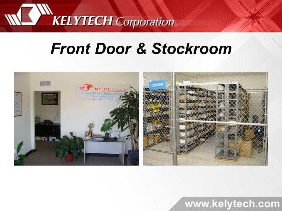 Front Door & Stockroom