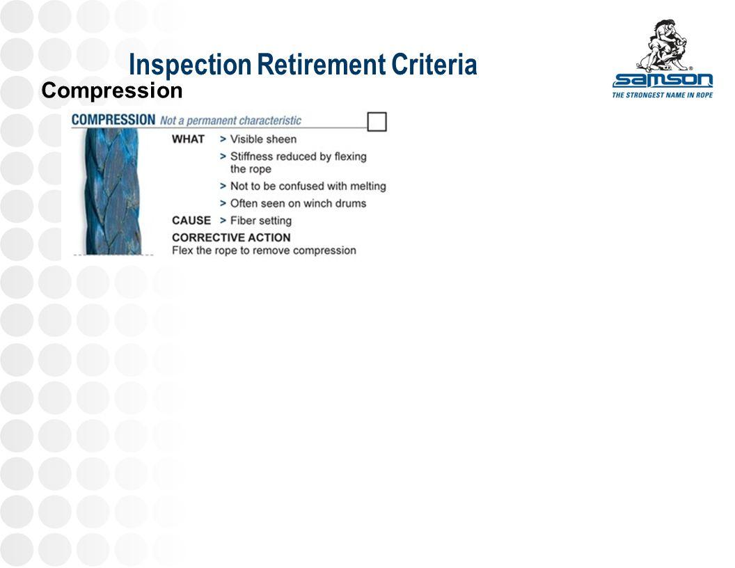 Inspection Retirement Criteria Compression