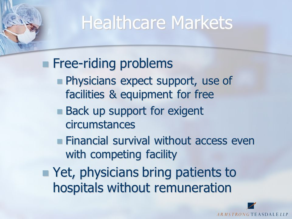 Regional Cases-Heartland Heartland's Conspiracy Evidence Heartland's Conspiracy Evidence Direct Direct Unwritten but understood agreement among MCO's not to extend managed care contracts to SSHs Gentlemen's agreement among MCO's to include facilities majority owned by Hospital Defendants in managed care plans Network configuration agreements excluding SSHs but allowing competing hospitals to include new facilities Cooperation among hospitals and MCO's on common network configuration agreement terms Statements to plaintiff by MCO's that their contracts prevented them from granting plan access to physician-owned facilities