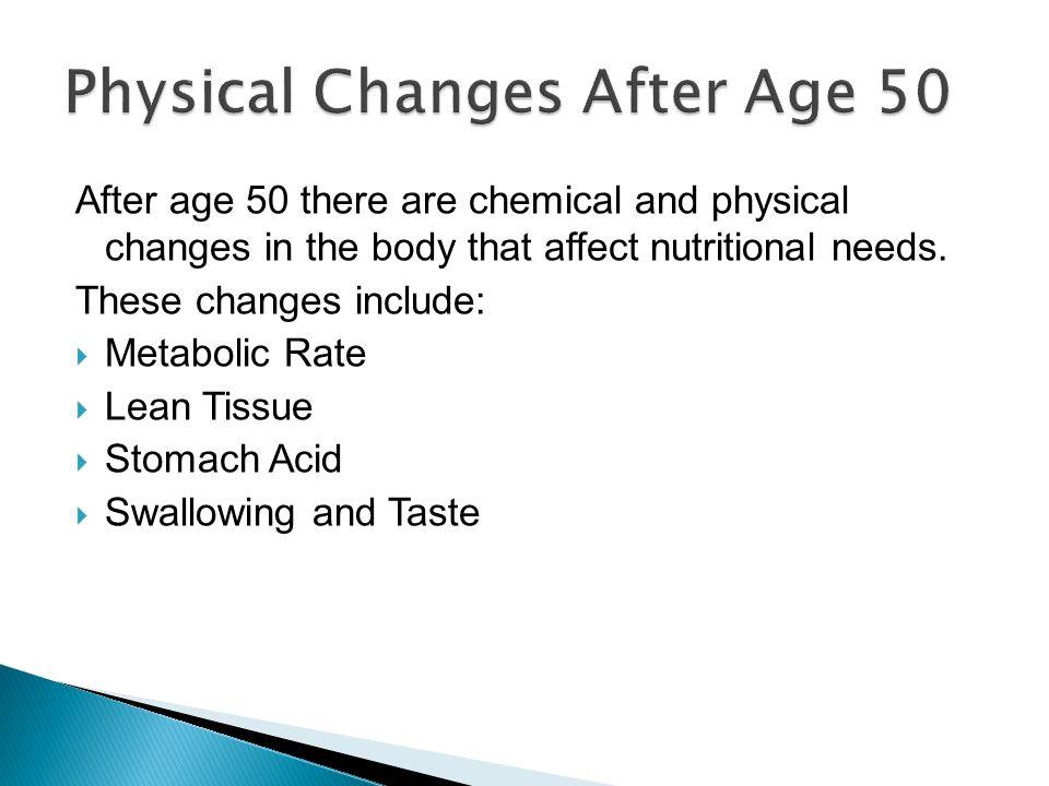Metabolic Rate: The metabolic rate or metabolism slows down.