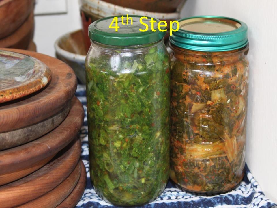 4 th step Ferments pics 4 th Step