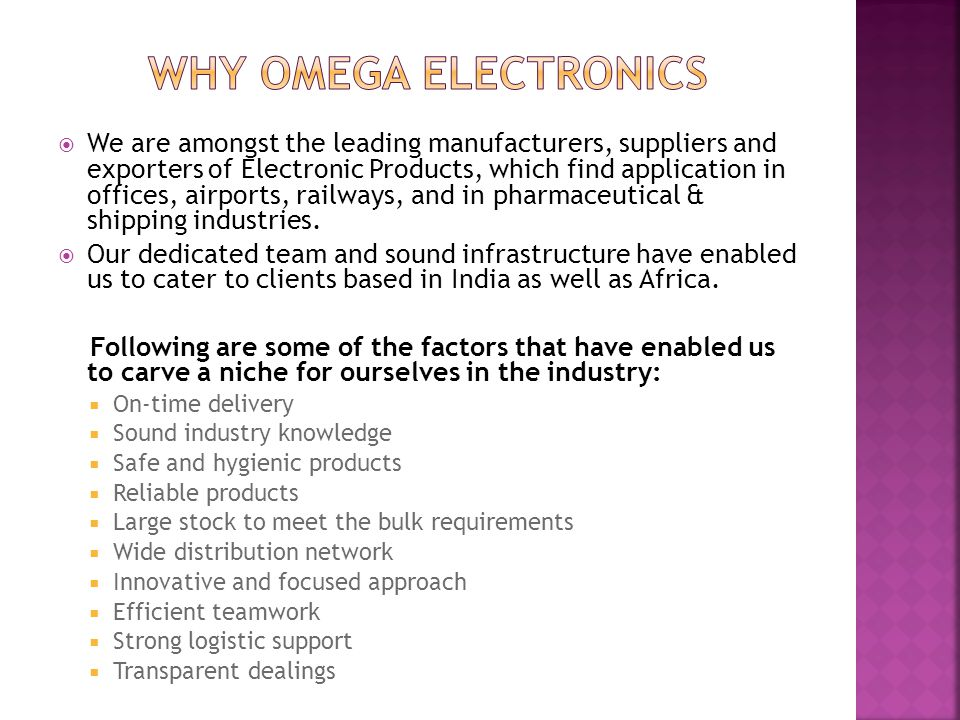  We are amongst the leading manufacturers, suppliers and exporters of Electronic Products, which find application in offices, airports, railways, and