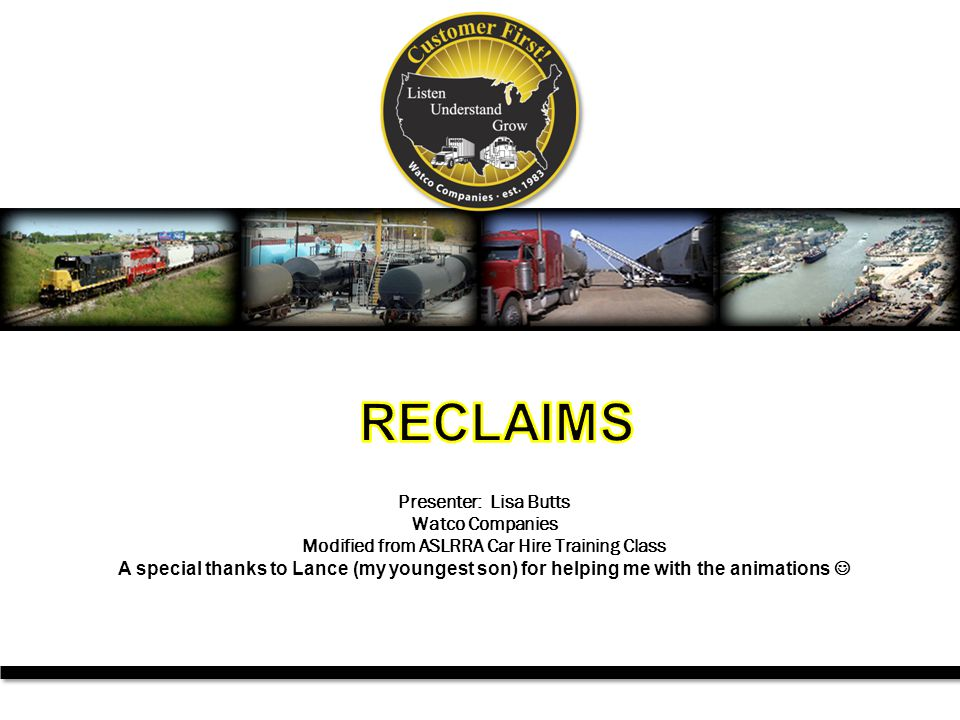 12 Car Hire Rule 22 Reclaims (cont d) Held Short (224) reclaims are for cars that cannot be moved to the loading point.