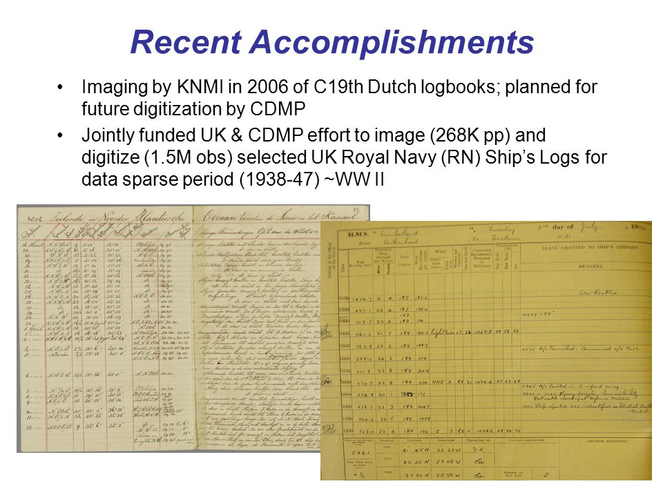 Ongoing and Planned UK Projects Together with ACRE, The UK National Archives (TNA), other partners English East India Co.