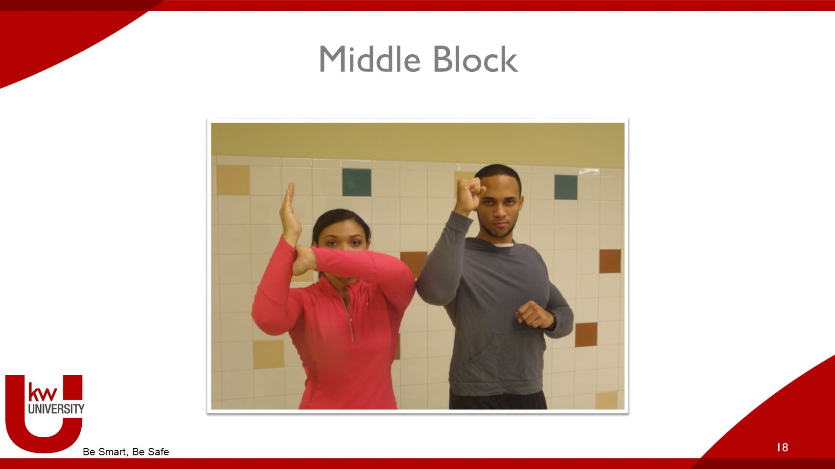 Middle Block 18 Be Smart, Be Safe