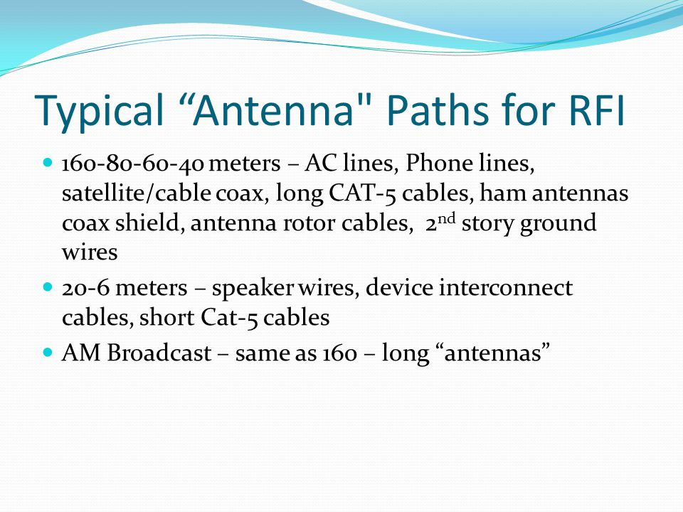 """Typical """"Antenna"""