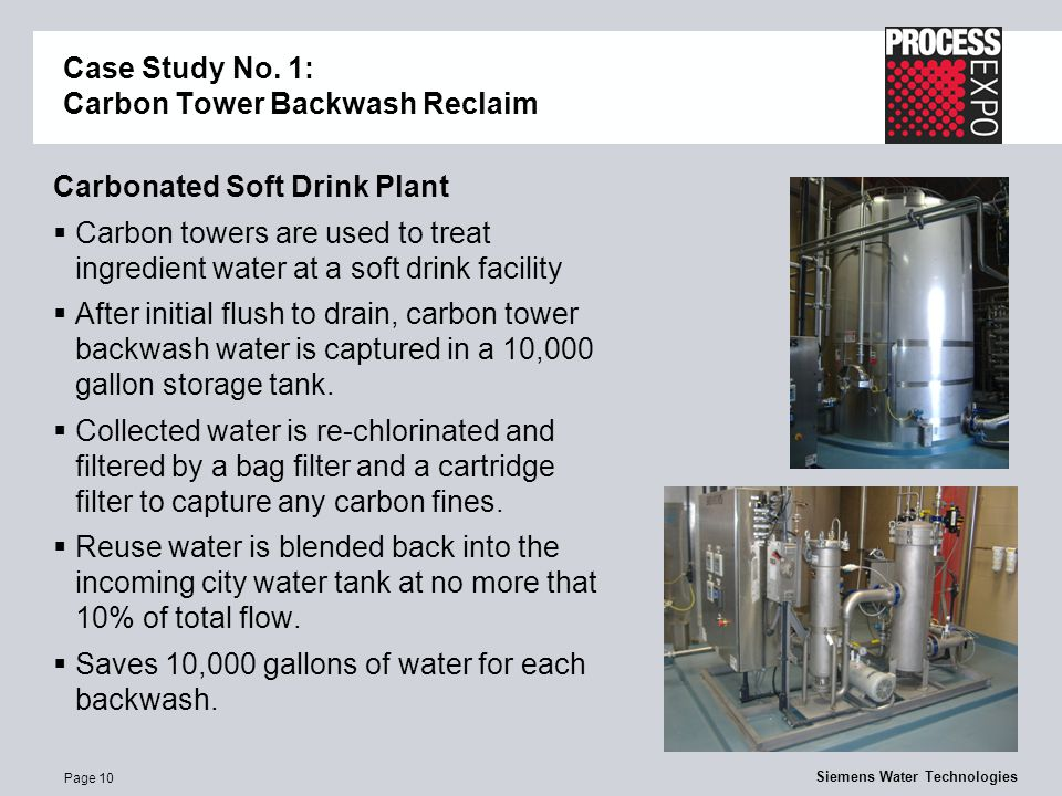 Page 10 Siemens Water Technologies Case Study No.