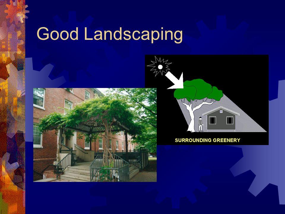 Good Landscaping