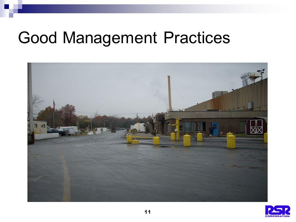 11 Good Management Practices