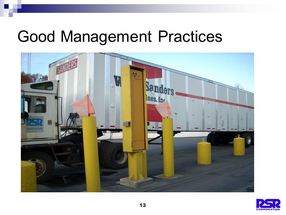 13 Good Management Practices