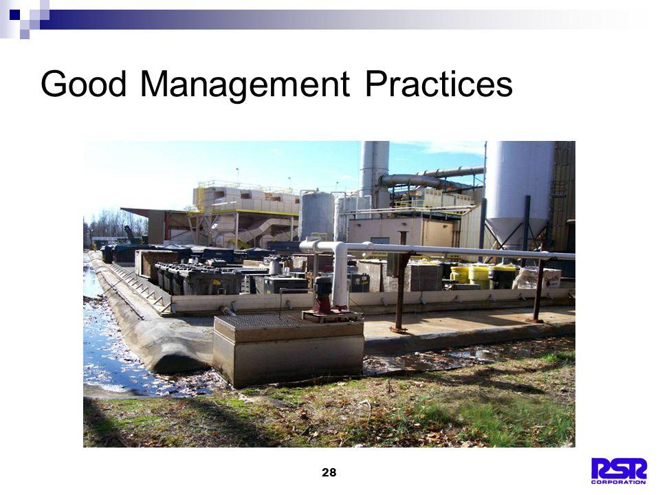 28 Good Management Practices