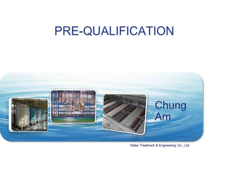 ChungAm Water Treatment & Engineering Co., Ltd.Ⅱ.