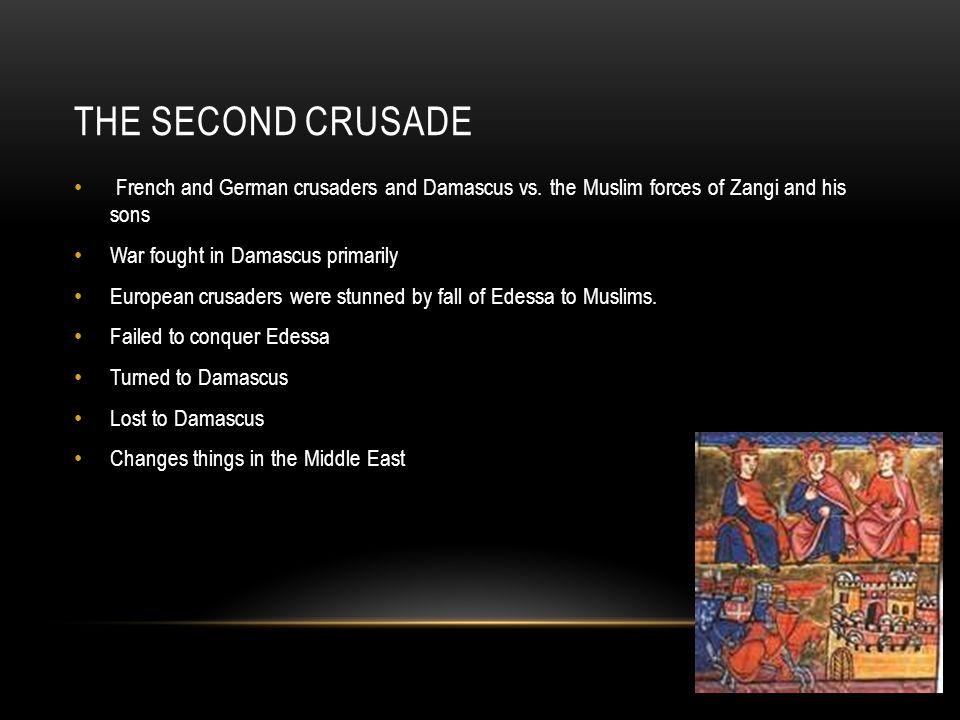 THE THIRD CRUSADE (1189-1192)
