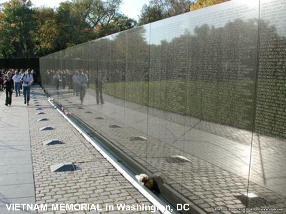 VIETNAM MEMORIAL in Washington, DC