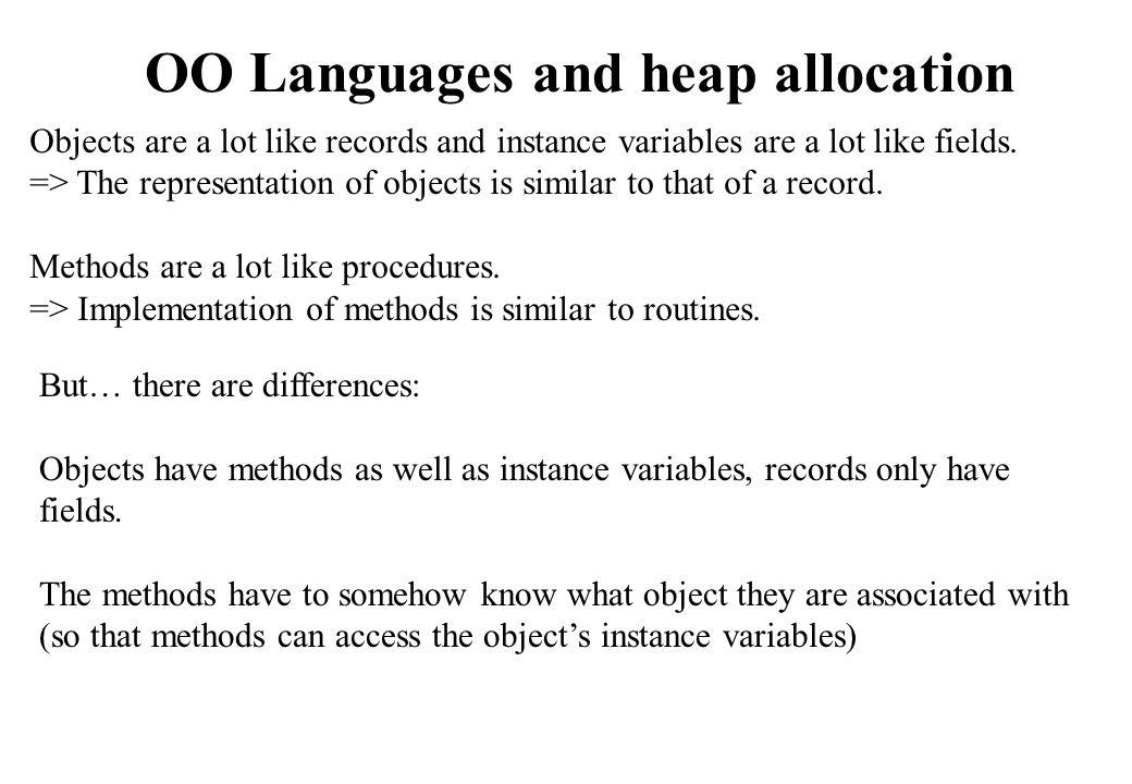 slide 40 root set Heap space Mark-Sweep Example (3)