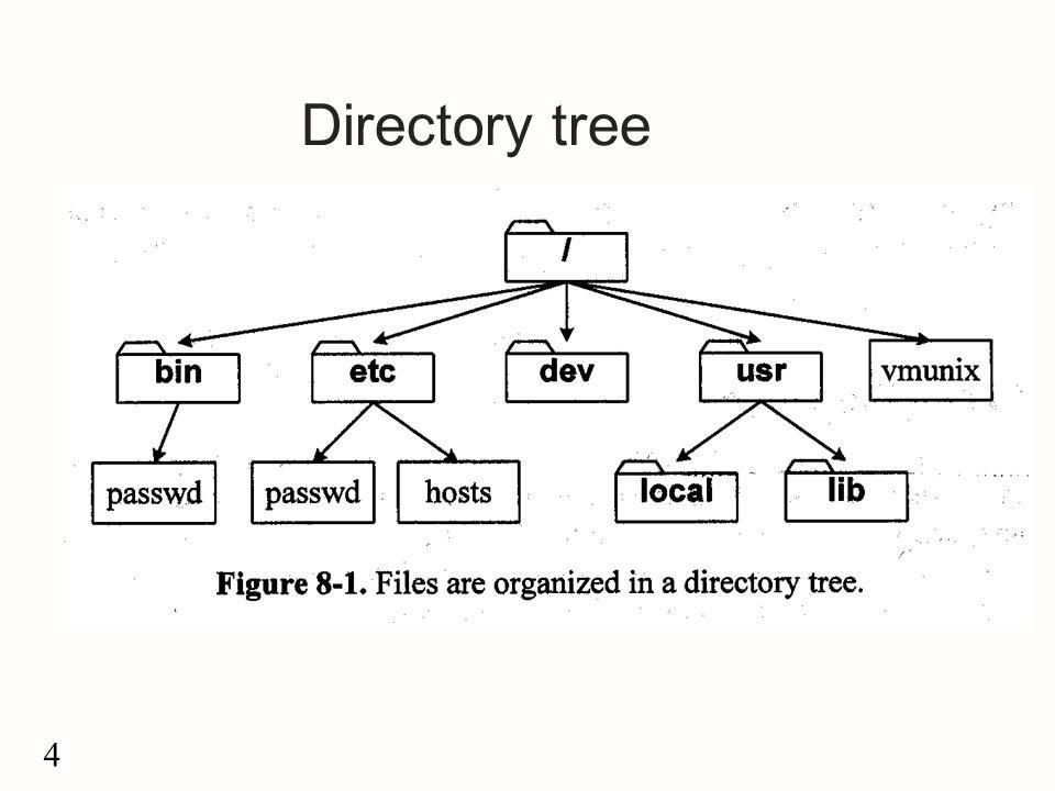 4 Directory tree
