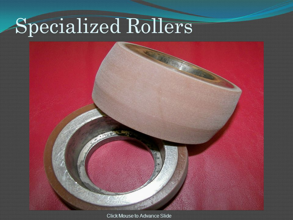 Specialized Rollers Click Mouse to Advance Slide