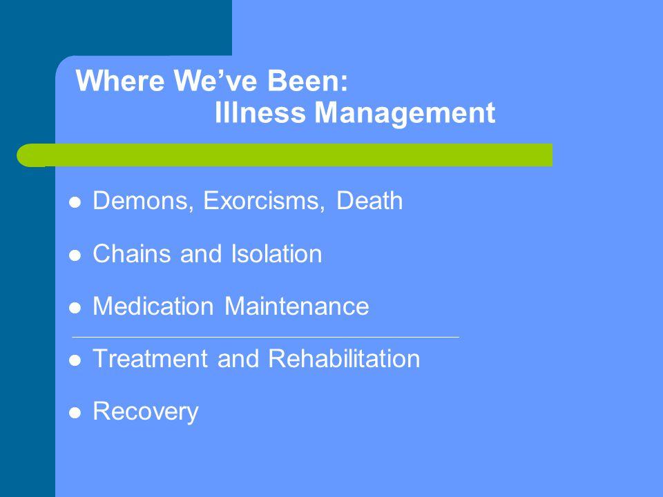 Treatment and Rehabilitation 1.