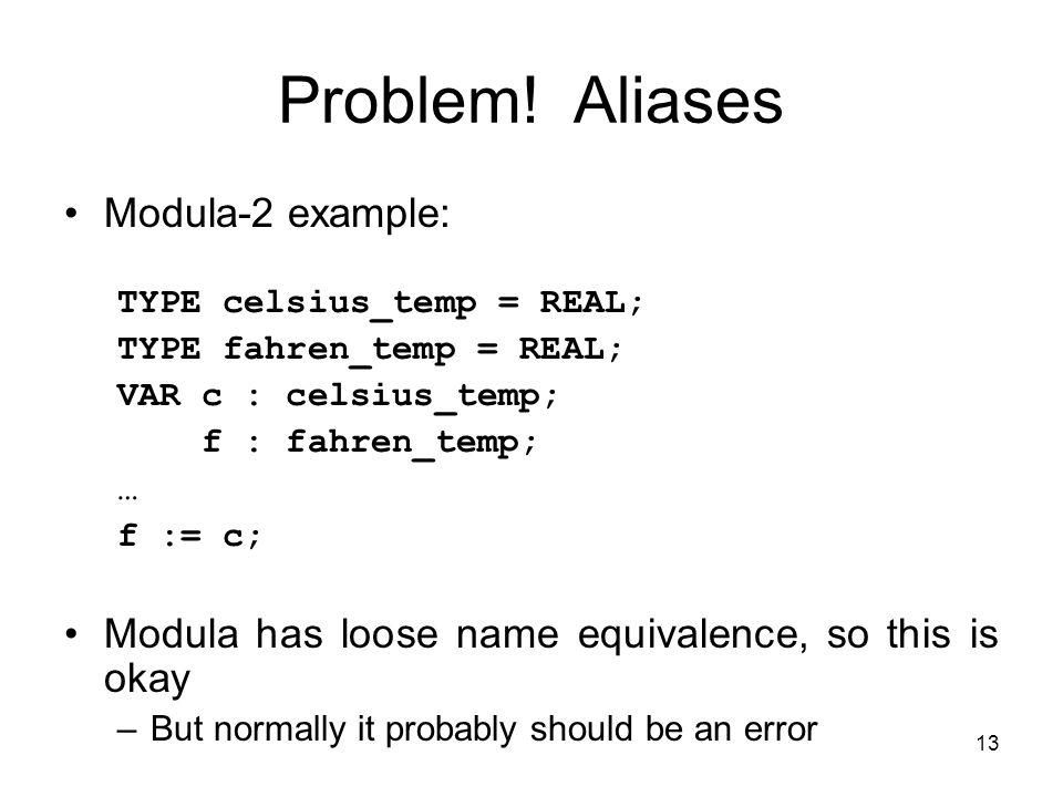 13 Problem.