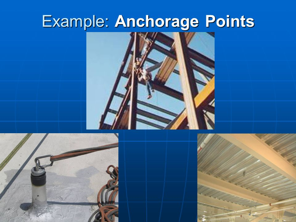 Example: Anchorage Points