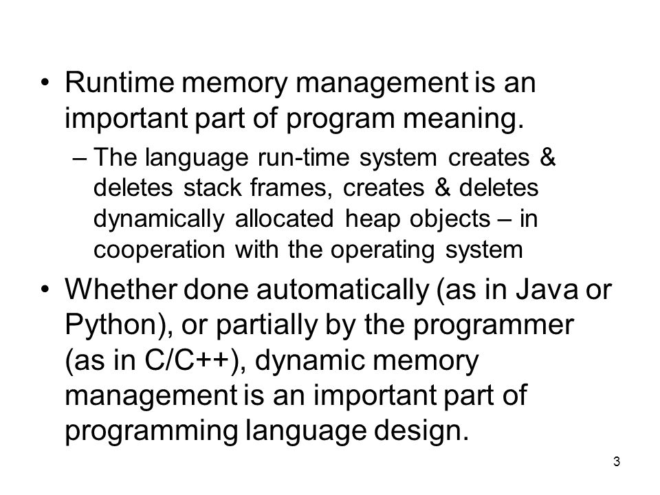 4 Review Definitions Method: any subprogram (function, procedure, subroutine) – depends on language terminology.