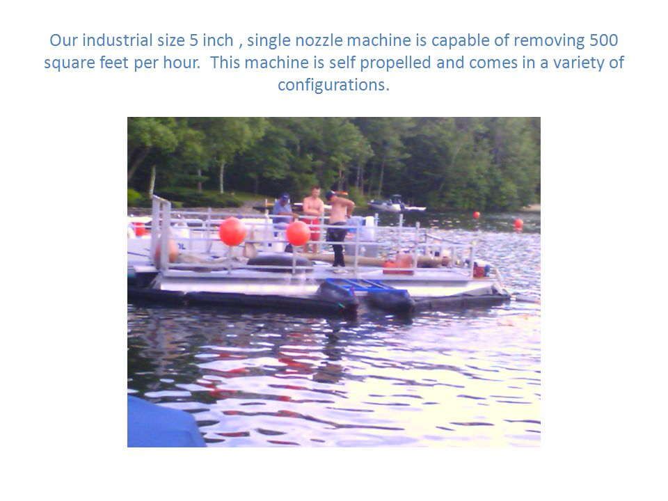 UWS AQUACLEANER Leaders in the field of Suction Harvesting Technology -A long term solution for invasive plant problems -Minimal disturbance to the lakes bottom -Plant selectivity and eco-friendly -Can be used for homeowners and lake-wide management -Available in variety of sizes and configurations -Offers shoreline remediation -Offers short and long term relief for a variety of problems