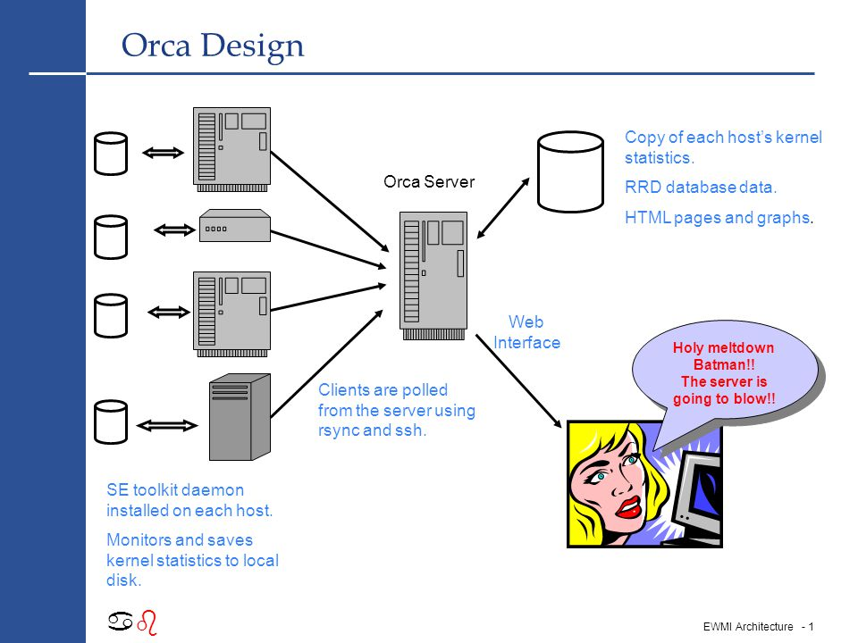 Understanding Server Performance With Orca Richard Grevis UBS European Wealth Management London, 24 nd March, 2004 Comments or corrections.