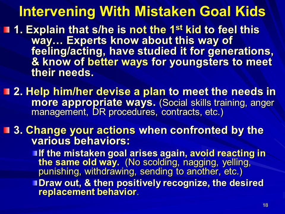 18 Intervening With Mistaken Goal Kids 1.