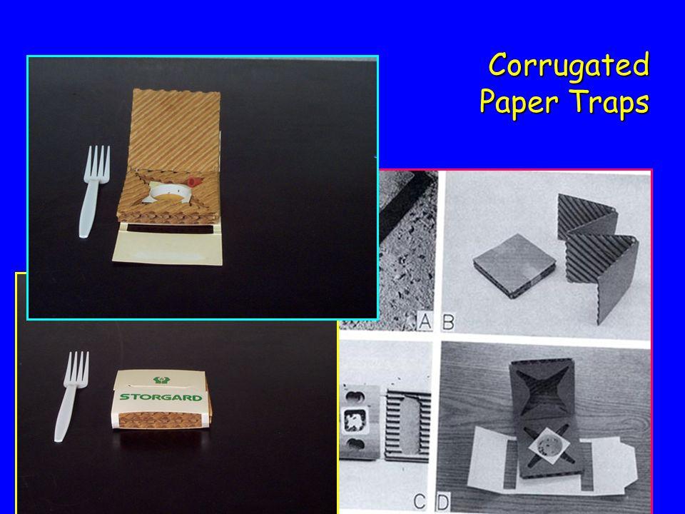 Corrugated Paper Traps