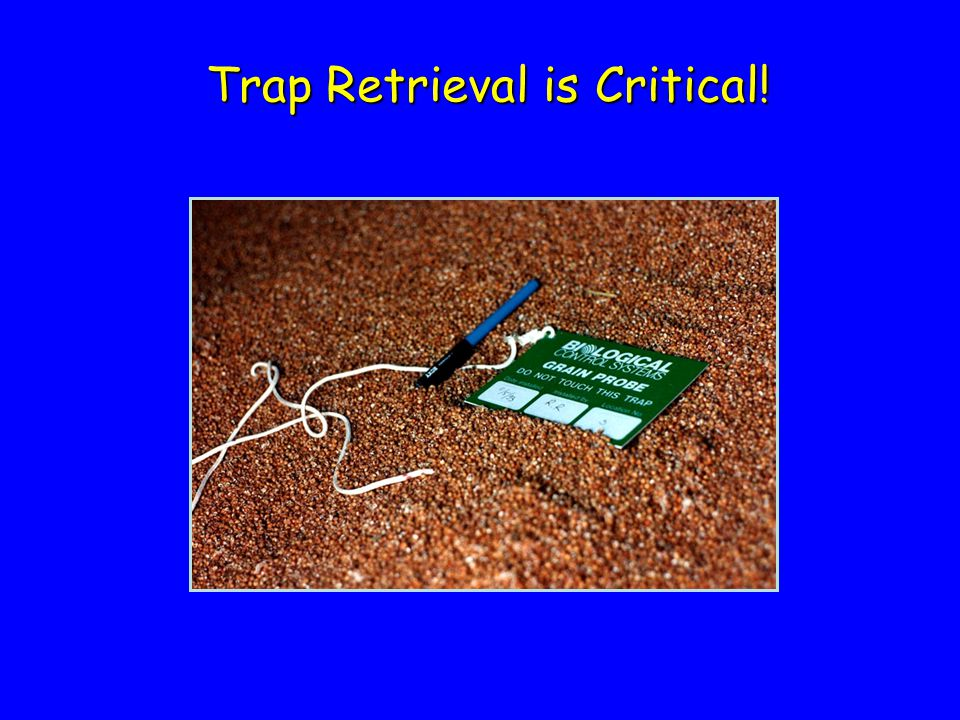 Trap Retrieval is Critical!