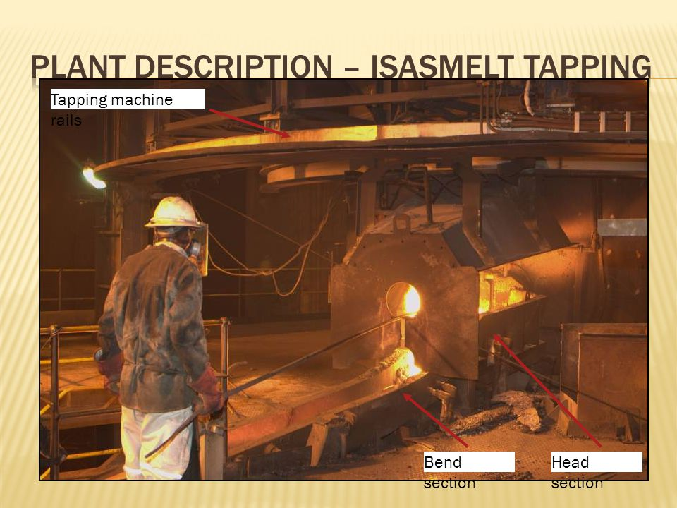 Tapping machine rails Head section Bend section
