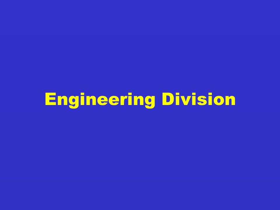 Engineering Division