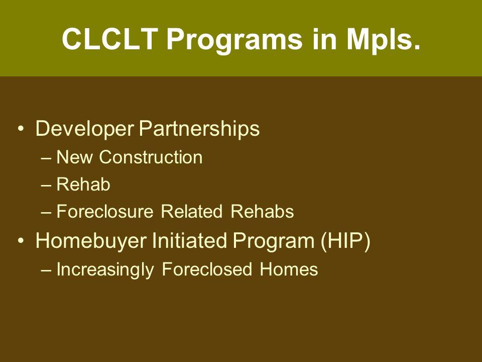 CLCLT Applications in Mpls.