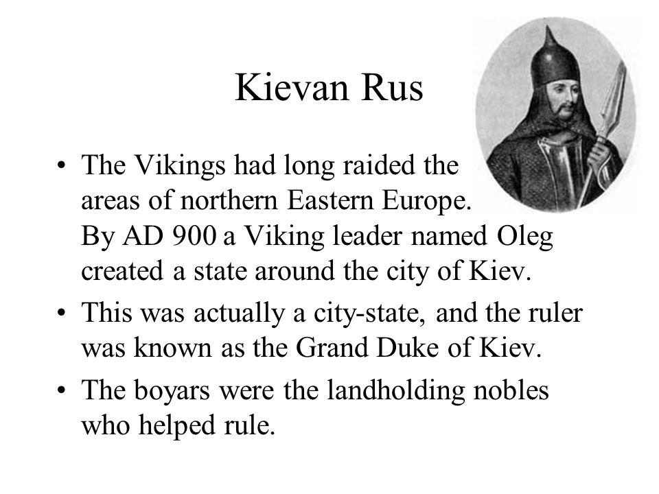 The Lands of the Kievan Rus