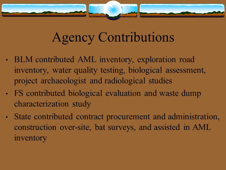 Remaining Segments West Black Mesa Butte 36 BLM sites Mancos Jim Butte 3 FS sites and 2 BLM sites Poison Canyon 9 FS sites Chippean Rocks 7 FS sites