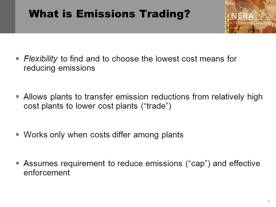 4 What is Emissions Trading.
