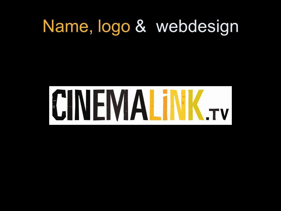 Name, logo & webdesign