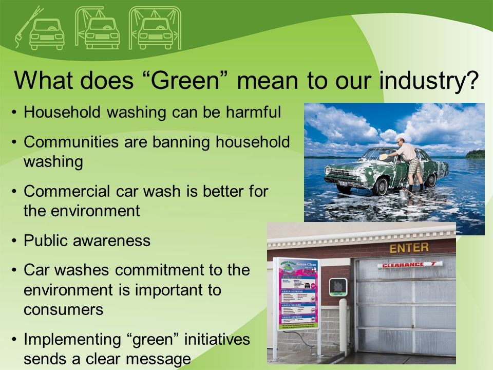 What does Green mean to our industry.