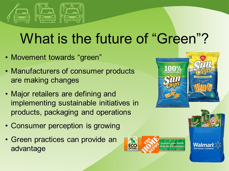 What is the future of Green .