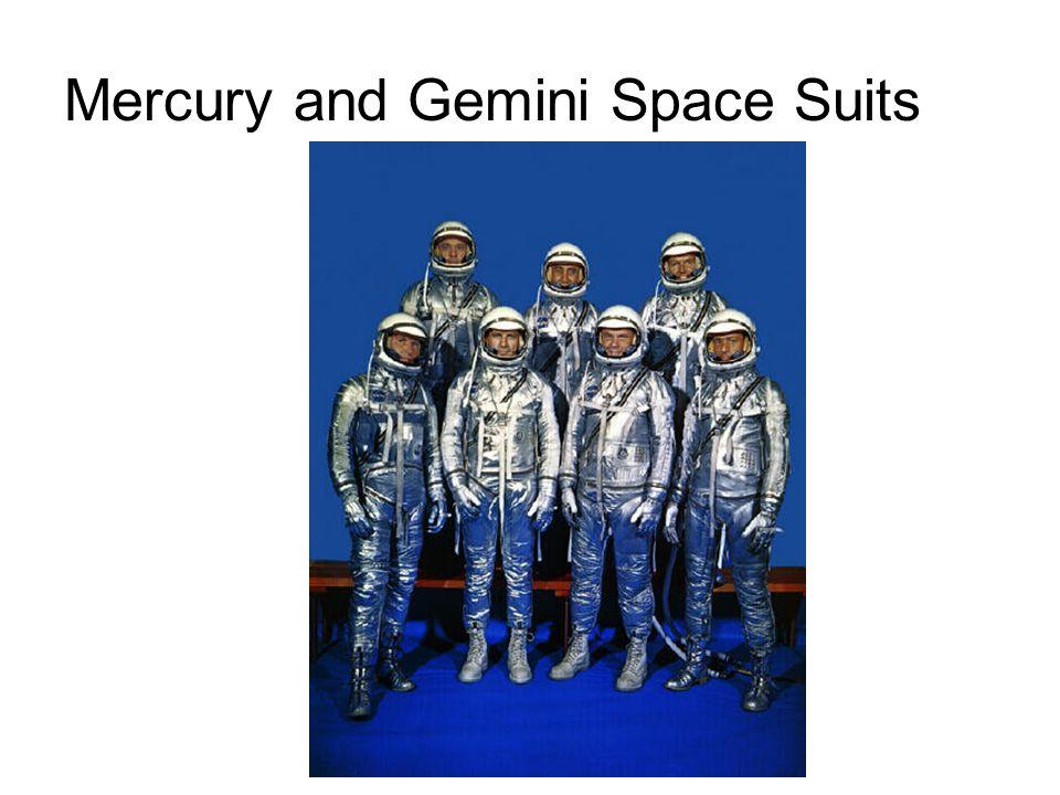 Mercury and Gemini Space Suits