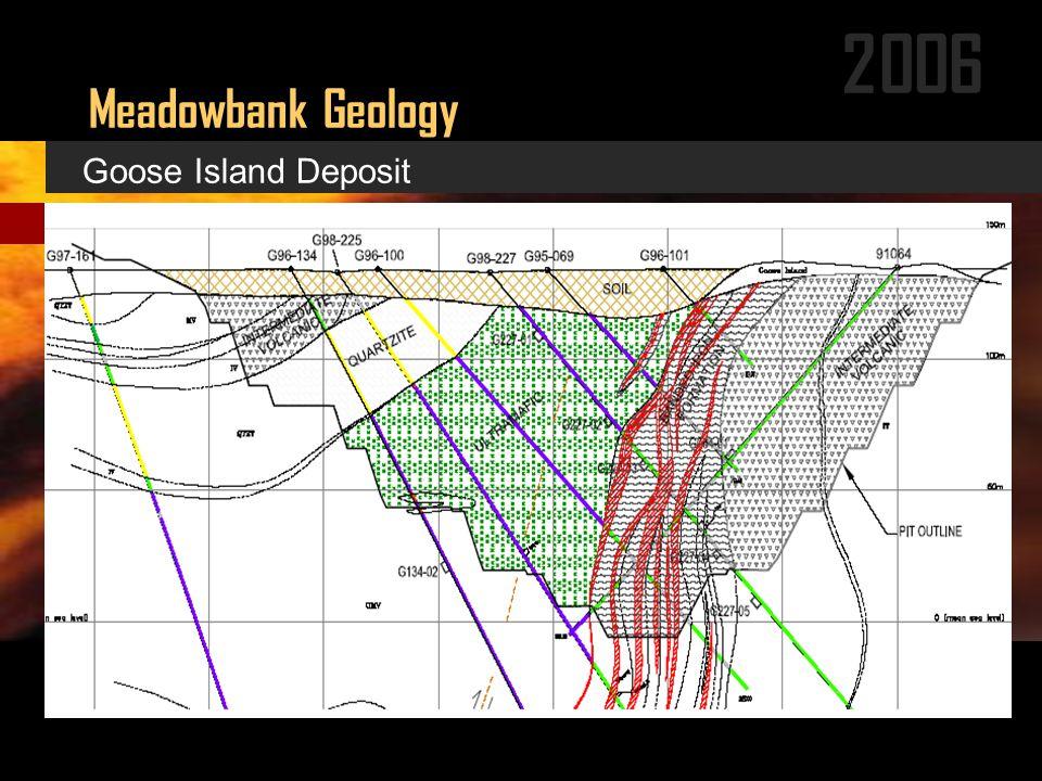 2006 Meadowbank Geology Goose Island Deposit