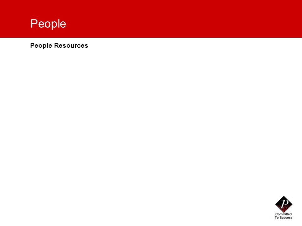 17 People People Resources