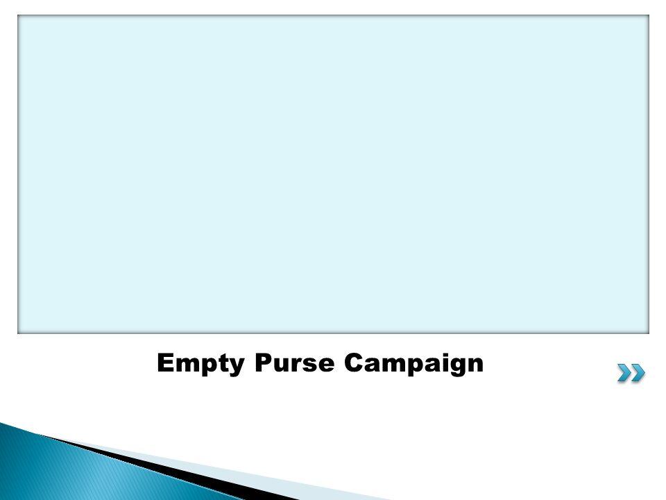 Empty Purse Campaign
