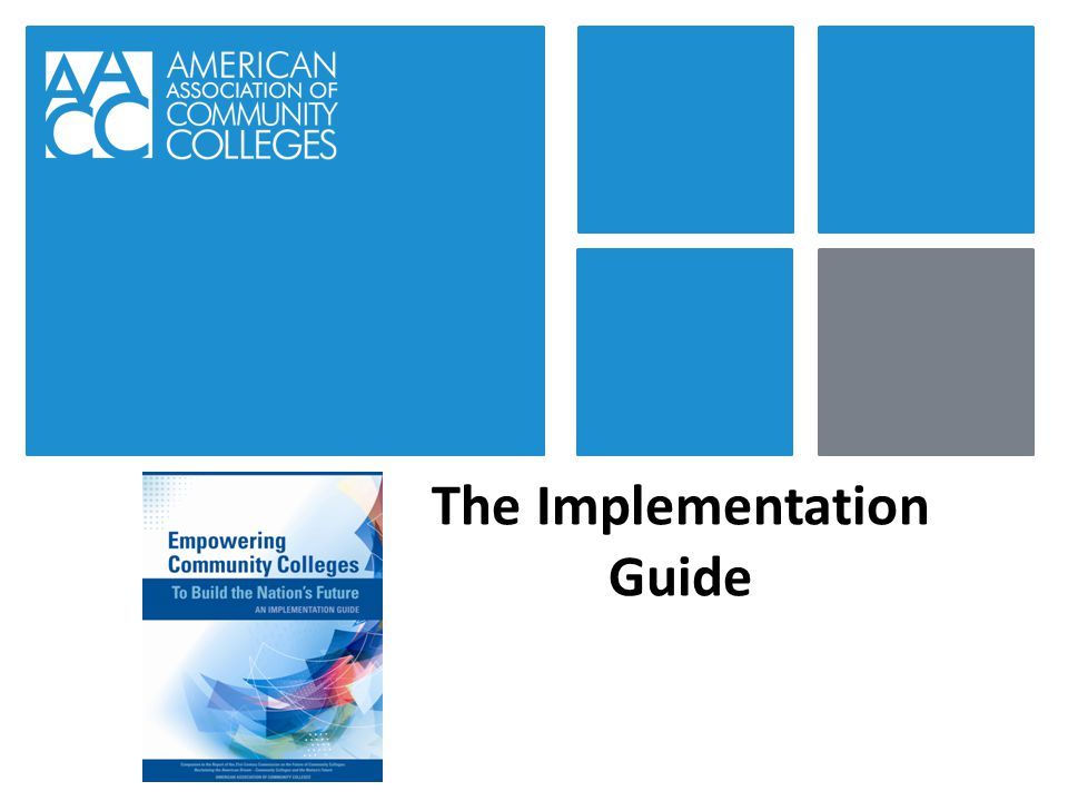 The Implementation Guide